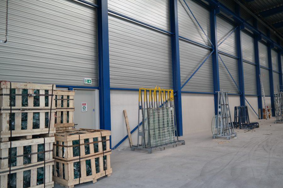 Cura Glass bedrijfshal te Lopik